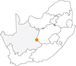 En route pour une nouvelle série consacrée à Orania au coeur de l'Afrique du Sud