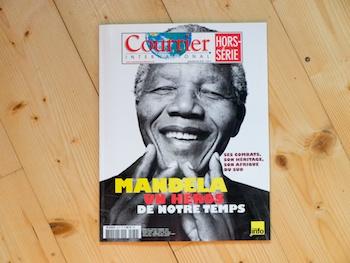 Publication de ma série Orania dans le Hors série de Courrier International consacré à Nelson Mandela