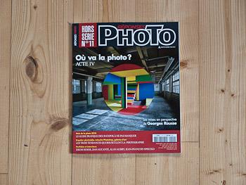 Publication dans le hors série de Réponses Photo consacré à l'avenir de la photographie.