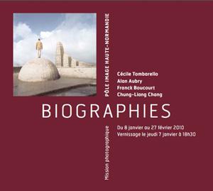 Exposition Biographie au Pôle Image Haute Normandie