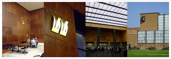 La belle architecture de la gare de FLorence, Italie