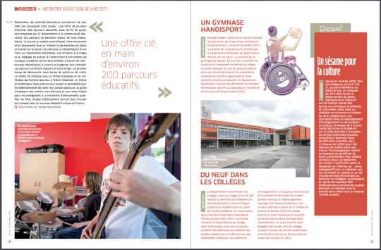 Seine-Maritime magazine, septembre 2012