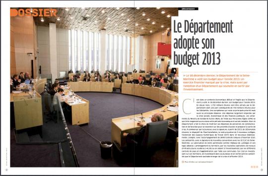 Seine-Maritime magazine, février 2013