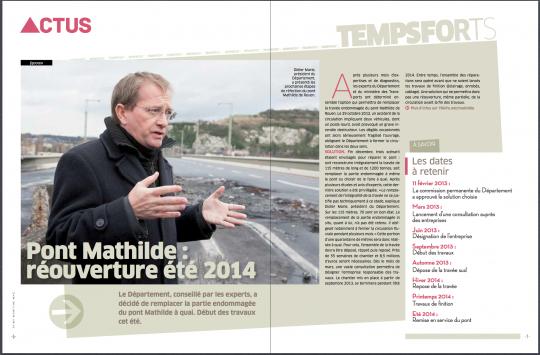 Seine-Maritime magazine, mars 2013