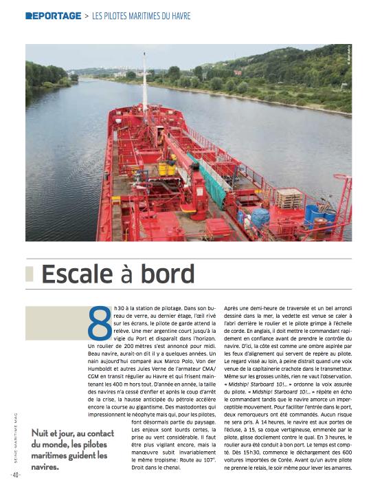 Seine-Maritime magazine, octobre 2013