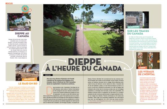Seine-Maritime magazine, septembre 2013